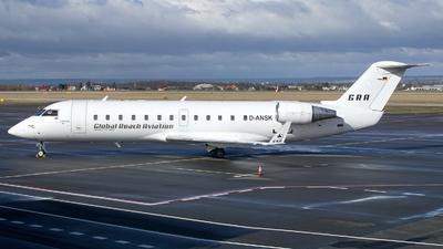 D-ANSK - Bombardier CRJ-200LR - Global Reach Aviation