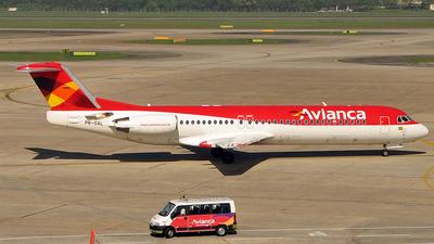 PR-OAL - Fokker 100 - Avianca Brasil