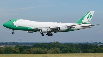 OO-ACF - Boeing 747-4EVERF - Challenge Airlines