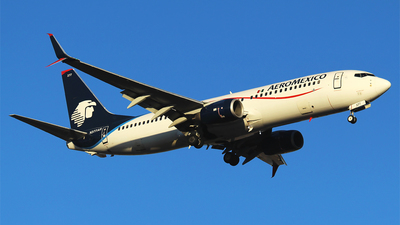 A picture of N377AR - Boeing 73786J - Aeromexico - © Alejandro Aceves