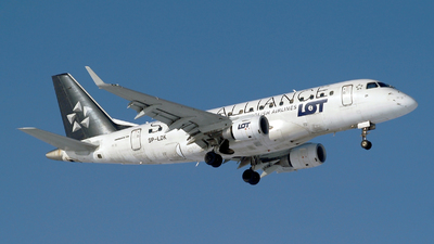 SP-LDK - Embraer 170-100LR - LOT Polish Airlines