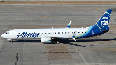 A picture of N282AK - Boeing 737990(ER) - Alaska Airlines - © Jason Whitebird