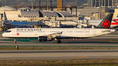 C-GJWI - Airbus A321-211 - Air Canada