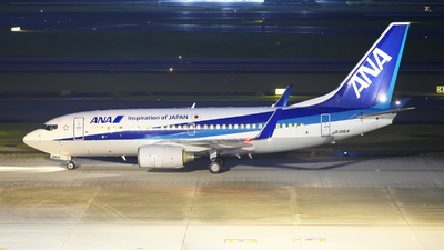 A picture of JA18AN - Boeing 737781 - All Nippon Airways - © Yuta