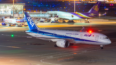 A picture of JA838A - Boeing 7878 Dreamliner - All Nippon Airways - © JohNNN_P