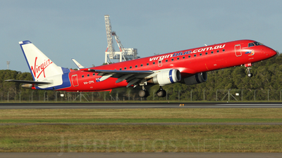 VH-ZPK - Embraer 190-100IGW - Virgin Blue Airlines