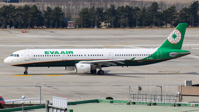 B-16201 - Airbus A321-211 - Eva Air