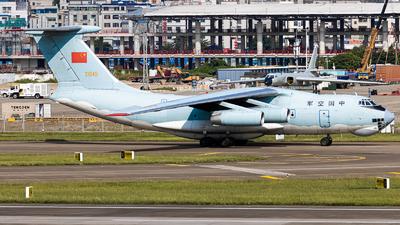 21049 - Ilyushin IL-76MD - China - Air Force