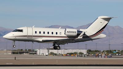 N200QS - Bombardier CL-600-2B16 Challenger 650 - NetJets Aviation