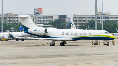 N80AD - Gulfstream G550 - Private