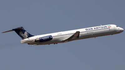 EP-MDG - McDonnell Douglas MD-82 - Iran Air Tour