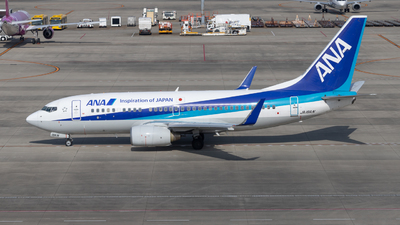 A picture of JA18AN - Boeing 737781 - All Nippon Airways - © KINCHAN