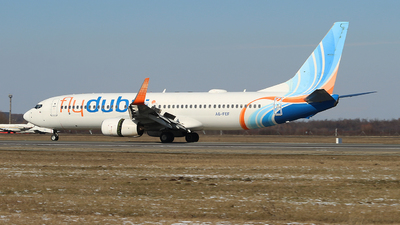 A picture of A6FEF - Boeing 7378KN - FlyDubai - © Calin Horia Lupu