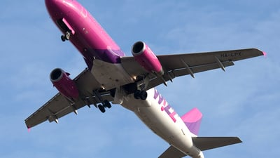 HA-LPX - Airbus A320-232 - Wizz Air