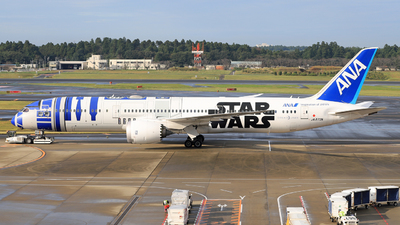 A picture of JA873A - Boeing 7879 Dreamliner - All Nippon Airways - © wengenpc