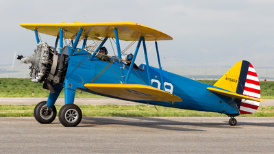 N75863 - Boeing A75N1 Stearman - Private