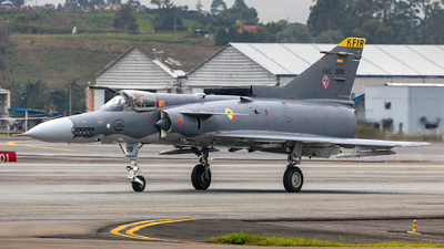 FAC3059 - IAI Kfir C10 - Colombia - Air Force