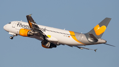 OO-TCX - Airbus A320-212 - Thomas Cook Airlines Belgium