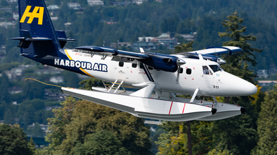 C-GHHA - De Havilland Canada DHC-6-300 Twin Otter - Harbour Air