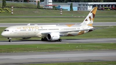 A6-BLB - Boeing 787-9 Dreamliner - Etihad Airways