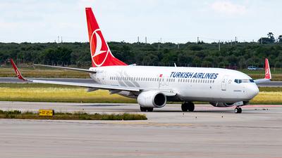 TC-JVS - Boeing 737-8F2 - Turkish Airlines