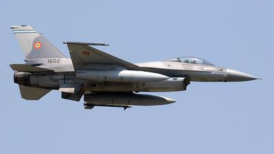 1602 - Lockheed Martin F-16AM Fighting Falcon - Romania - Air Force