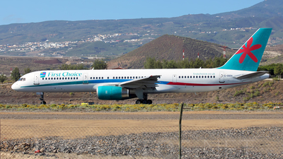 G-OOOX - Boeing 757-2Y0 - First Choice Airways