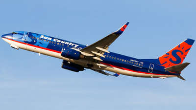 N801SY - Boeing 737-8Q8 - Sun Country Airlines