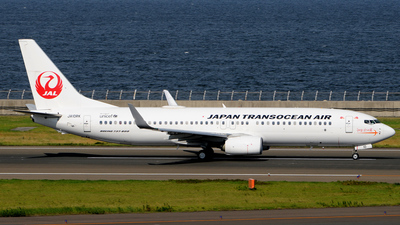 JA10RK - Boeing 737-8Q3 - Japan TransOcean Air (JTA)