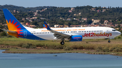 A picture of GJZBD - Boeing 7378MG - Jet2 - © James Dinsdale