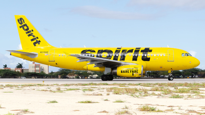 N535NK - Airbus A319-133 - Spirit Airlines