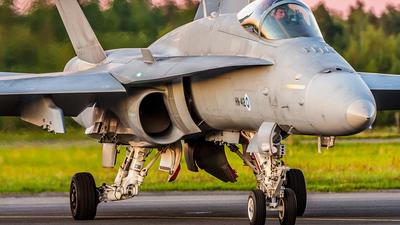 HN-412 - McDonnell Douglas F-18C Hornet - Finland - Air Force