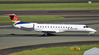 A picture of ZSALL - Embraer ERJ140 - Airlink - © 42 dono