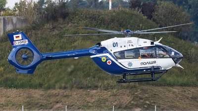 D-HMBF - Airbus Helicopters H145 - Ukraine - Police
