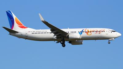 SU-TMH - Boeing 737-8GJ - FlyEgypt