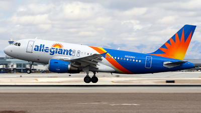 A picture of N323NV - Airbus A319111 - Allegiant Air - © Huy Do