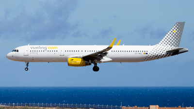 EC-MQL - Airbus A321-231 - Vueling Airlines