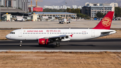 A picture of B6901 - Airbus A320214 - Juneyao Airlines - © Fei Yu