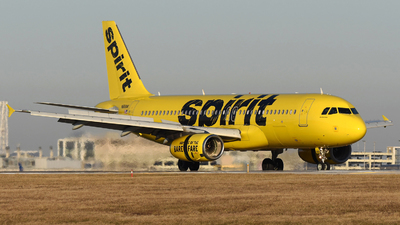 N616NK - Airbus A320-232 - Spirit Airlines