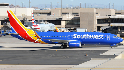 A picture of N8316H - Boeing 7378H4 - Southwest Airlines - © Jason Whitebird