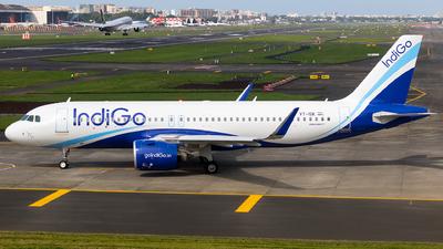 A picture of VTISK - Airbus A320271N - IndiGo - © Aneesh Bapaye
