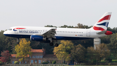 A picture of GMIDS - Airbus A320232 - British Airways - © DN280