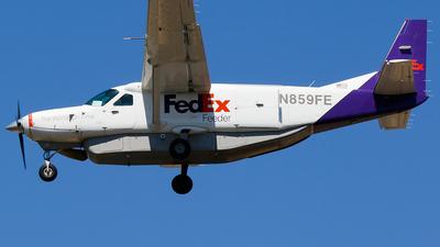 A picture of N859FE - Cessna 208B Super Cargomaster - FedEx - © Alec Mollenhauer