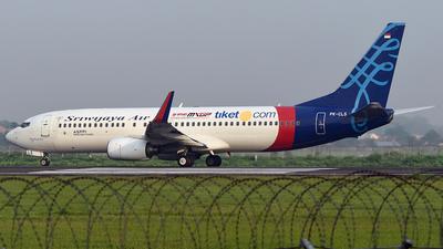 PK-CLS - Boeing 737-8K5 - Sriwijaya Air
