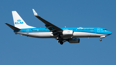 A picture of PHBCL - Boeing 7378K2 - KLM - © Kuzey Alan