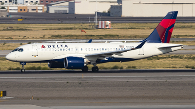 A picture of N113DQ - Airbus A220100 - Delta Air Lines - © David Lee