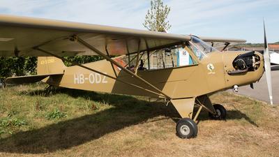 A picture of HBODZ - Piper J3C65 Cub - [11651] - © Alexandre Fazan