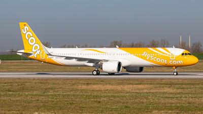 D-AVZV - Airbus A321-271NX - Scoot