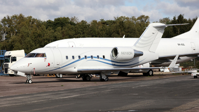 N618CR - Bombardier CL-600-2B16 Challenger 604 - Private