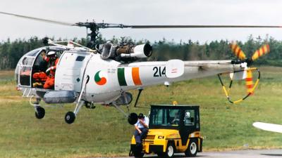 214 - Aérospatiale SA 316B Alouette III - Ireland - Air Corps